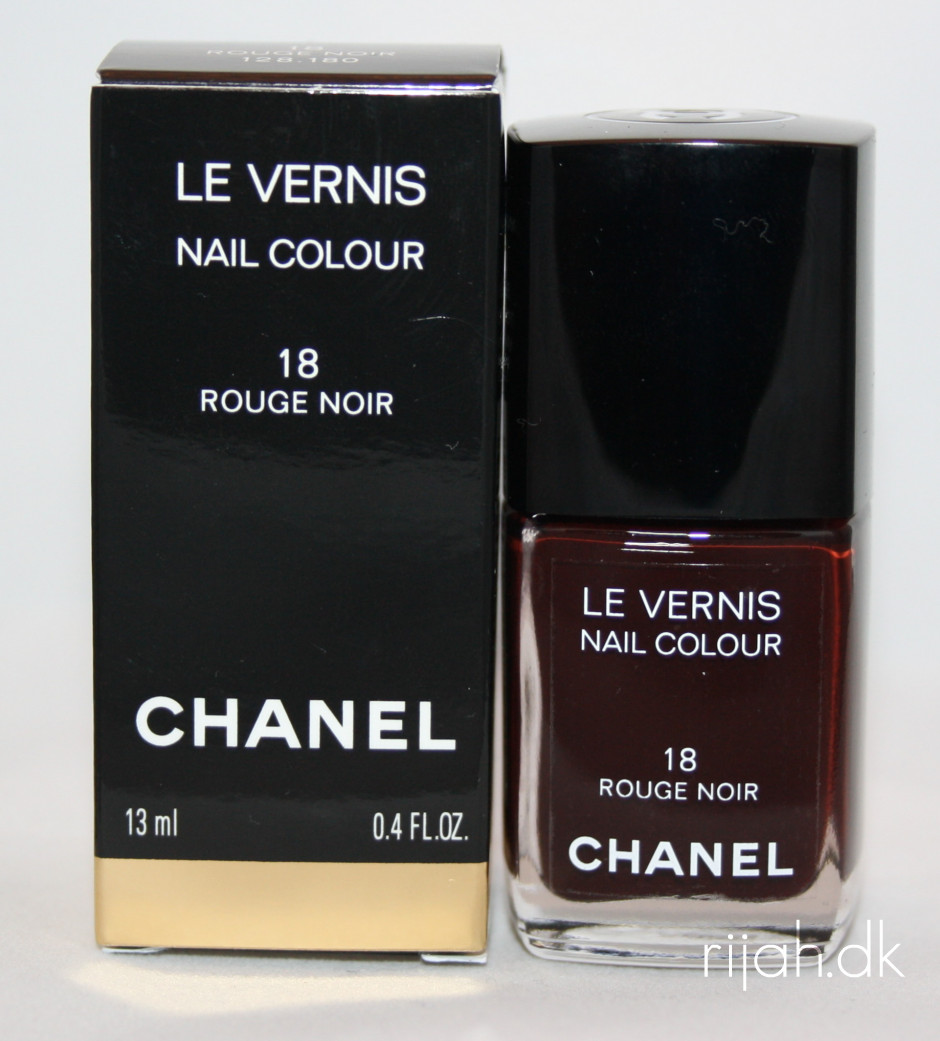 Chanel Rouge Noir bottleshot