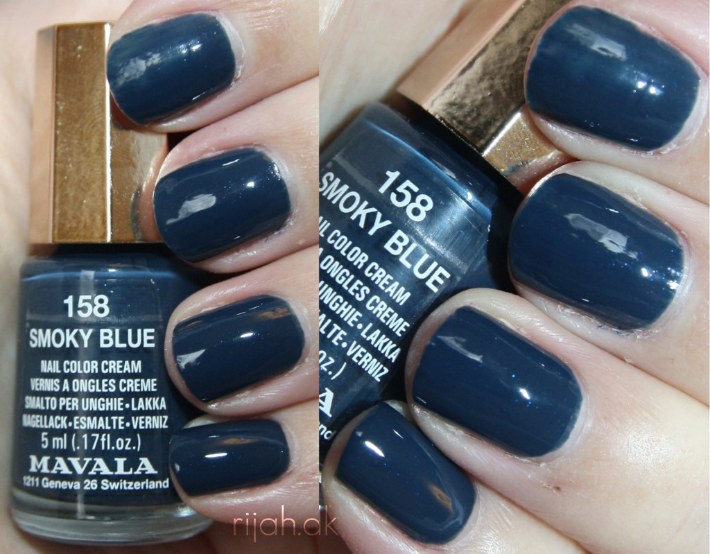 Mavala Smoky Blue
