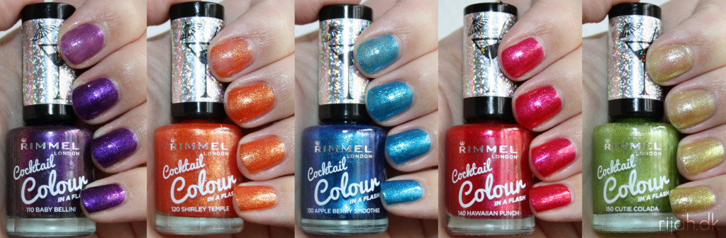 Rimmel Cocktail Colour swatch