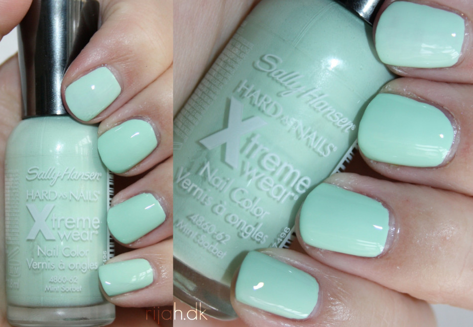 Sally Hansen Mint sorbet