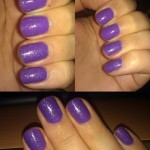 China Glaze – Electric Lilac over Color Club Pucci-licious