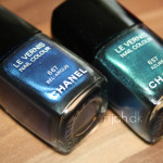 Chanel Azuré og Bel-Argus – swatches