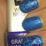 Isadora Grafitti Nail Top – Spraycan Blue