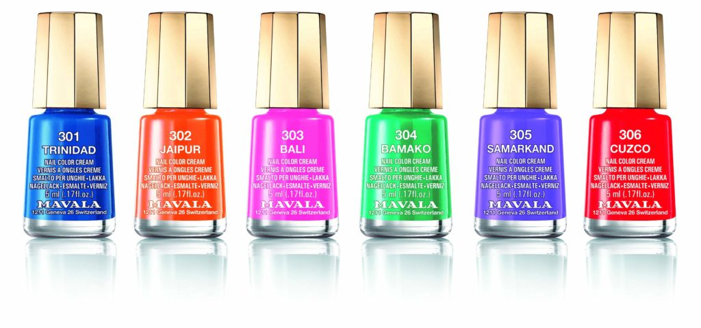 Mavala Mini Colours Chili Spice Collection