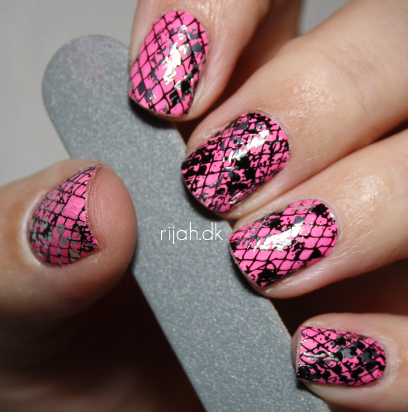 Maybelline Fierce Snake Nail stickers