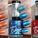 Rimmel Cocktail Colour kollektion swatches