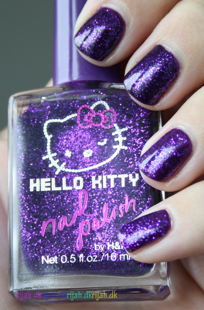 HM Glitter Purple