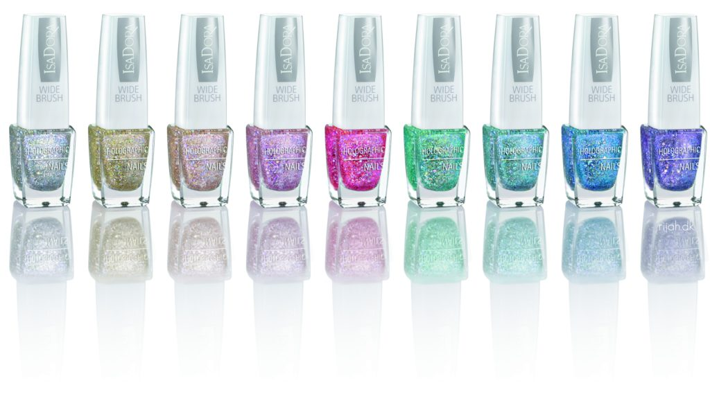IsaDora Holographic Nails