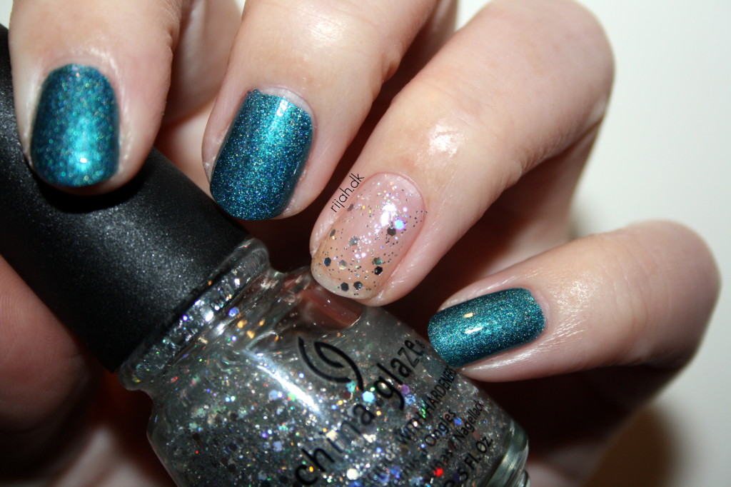 Fancy Friday Noget om mig, China Glaze Techno, China Glaze Techno Teal