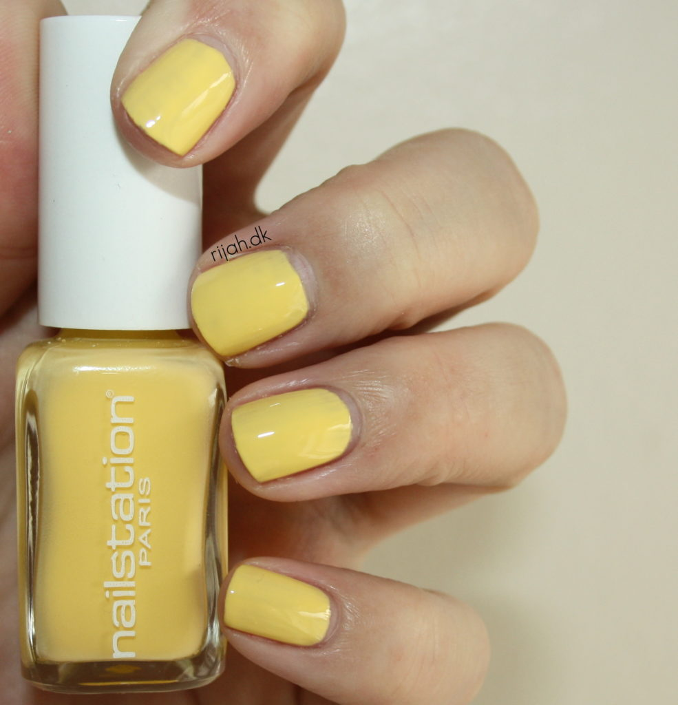 nailstation lightening lemon