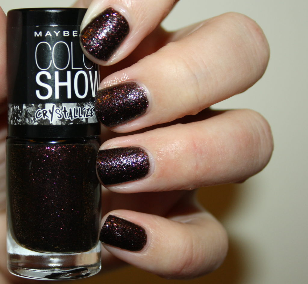 Maybelline Color Show Crystallize Red Excess