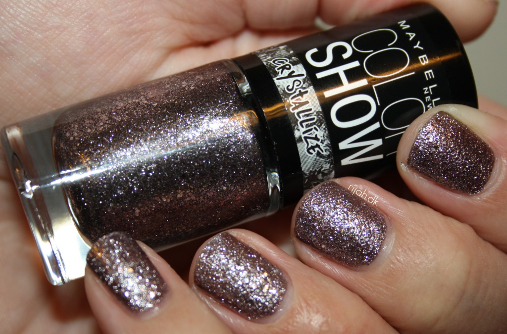 Maybelline Color Show Crystallize Silver Touch