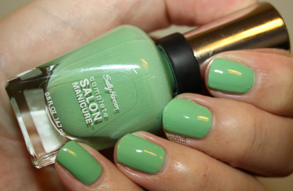 Sally Hansen Mojito Sally Hansen Complete Salon Manicure Designer Summer 2014 Collection