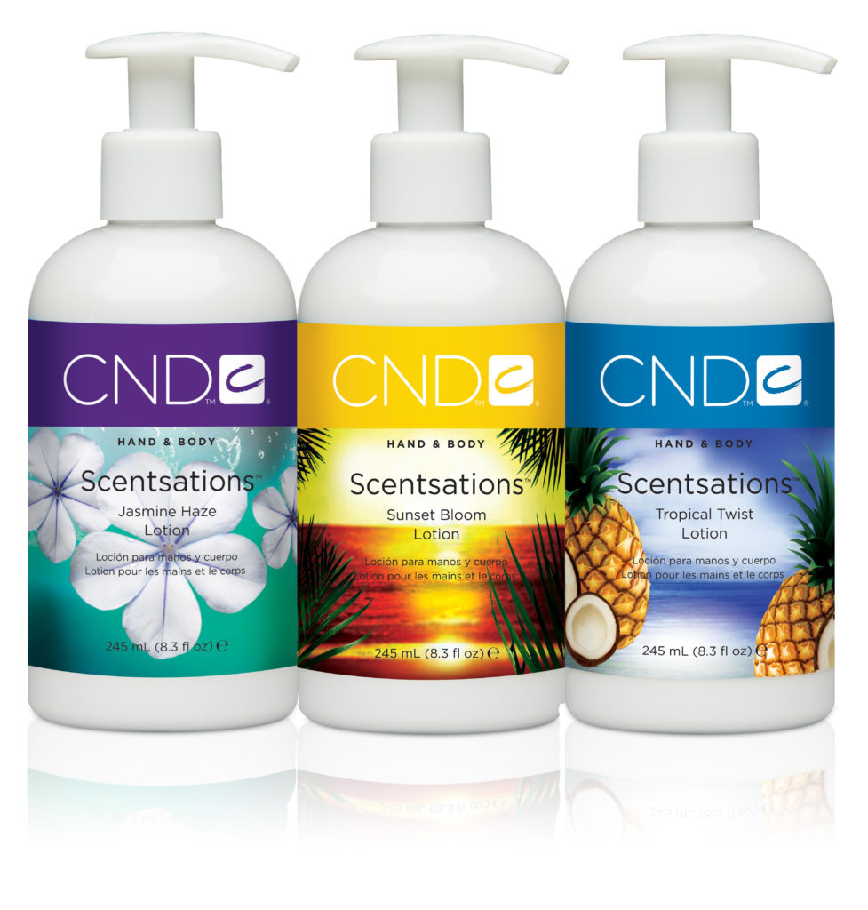 CND Scentsations Paradise collection 2014