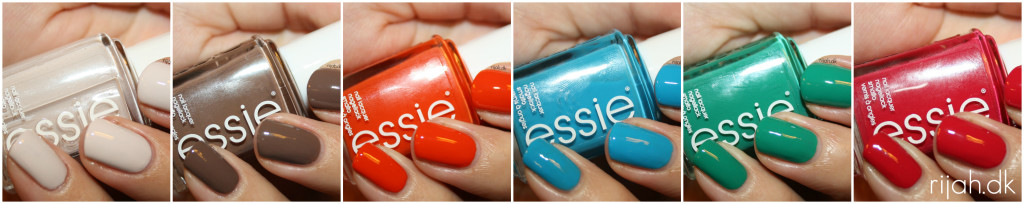 Essie Summer Collection 2014