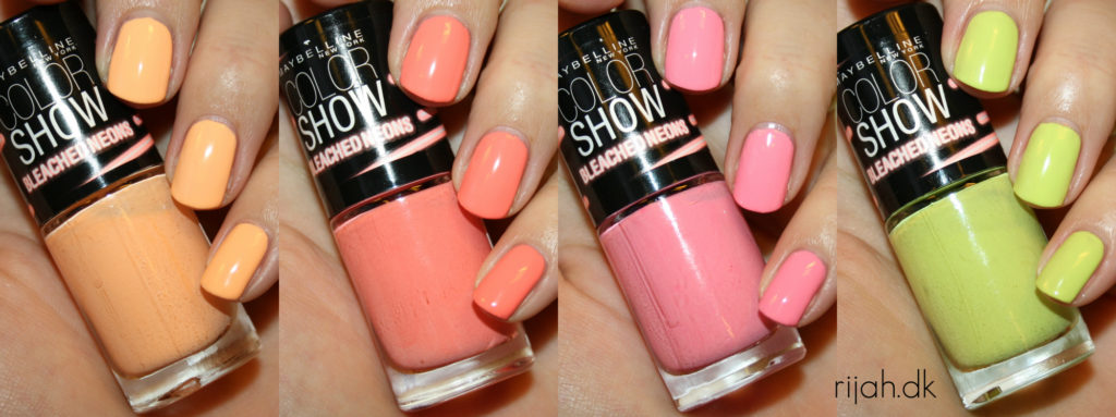 Maybelline Bleached Neons