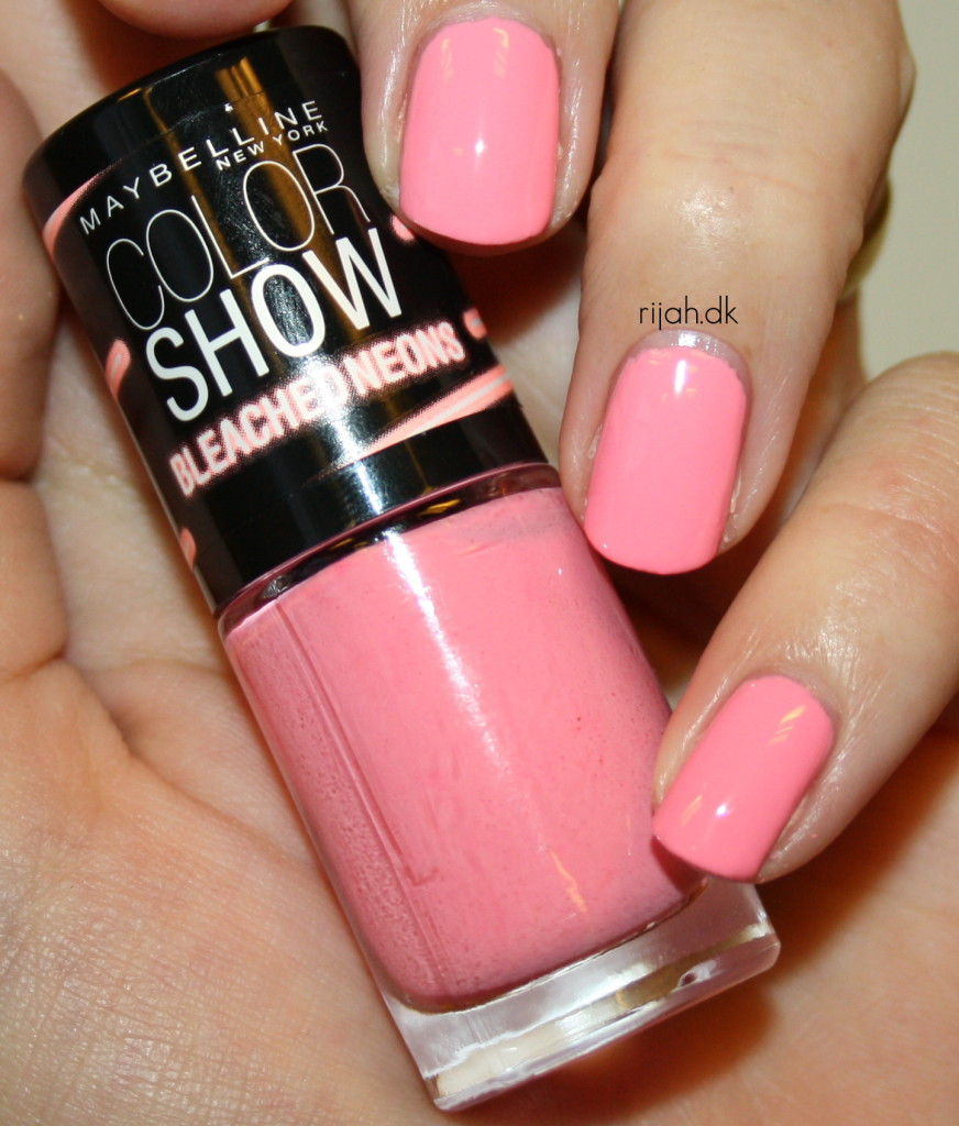 Maybelline Tropink Maybelline Bleached Neons