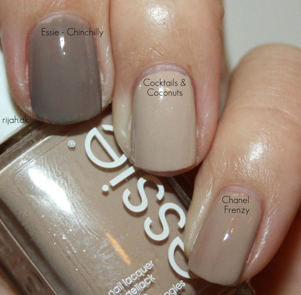 Essie Cocktails Coconuts Chinchilly Chanel Frenzy