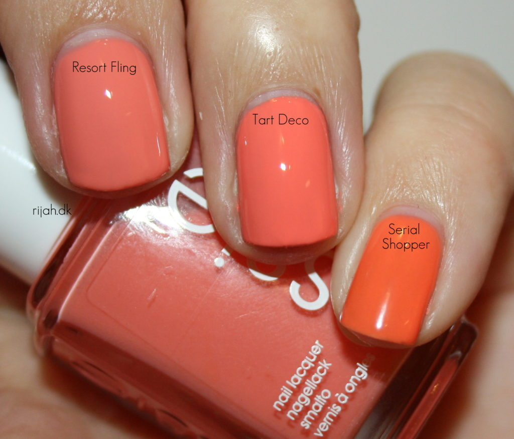 Essie Resort Fling Tart deco Serial Shopper