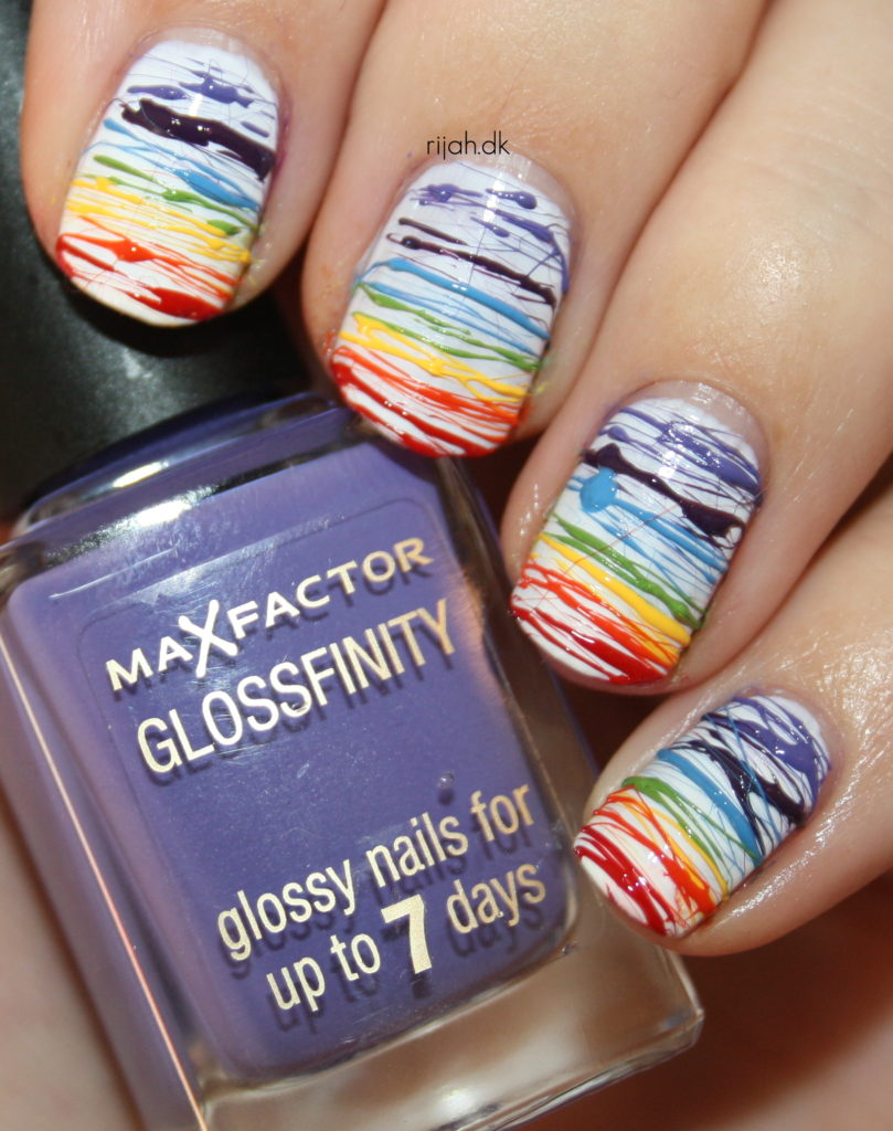31DC2014 09: Rainbow Nails
