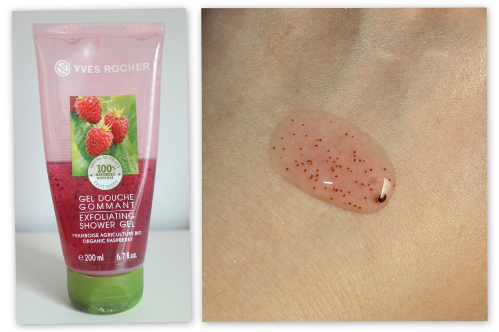 Yves Rocher Exfoliating Shower Gel Yves Rocher Blog Review - Summer must haves