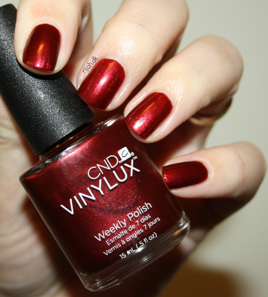 CND Crimson Sash CND Vinylux Modern Folklore collection