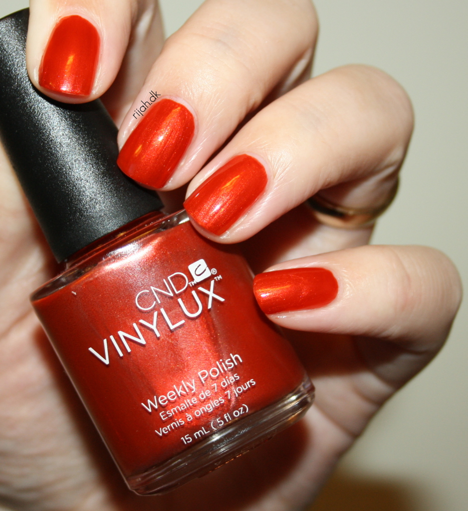 CND Fine Vermillion CND Vinylux Modern Folklore collection