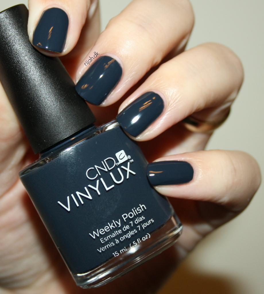 CND Indigo Frock CND Vinylux Modern Folklore collection