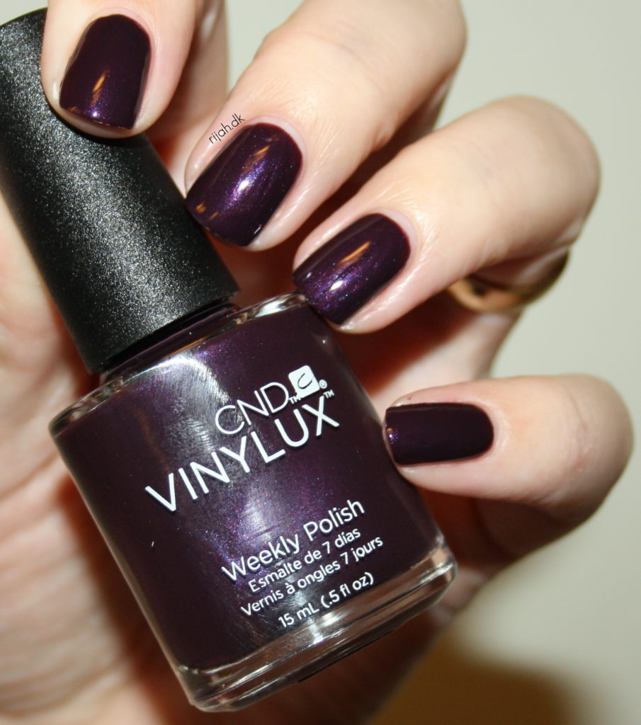 CND Plum Paisley CND Vinylux Modern Folklore collection