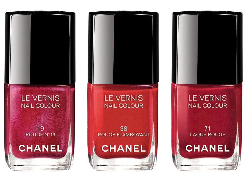 Les Rouges culte de chanel