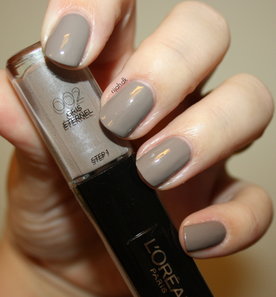 Loreal 002 Gris eternel Loreal Infallible Nails