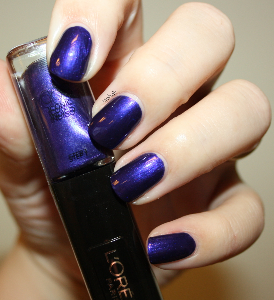 Loreal 008 Iconic Indigo Loreal Infallible Nails