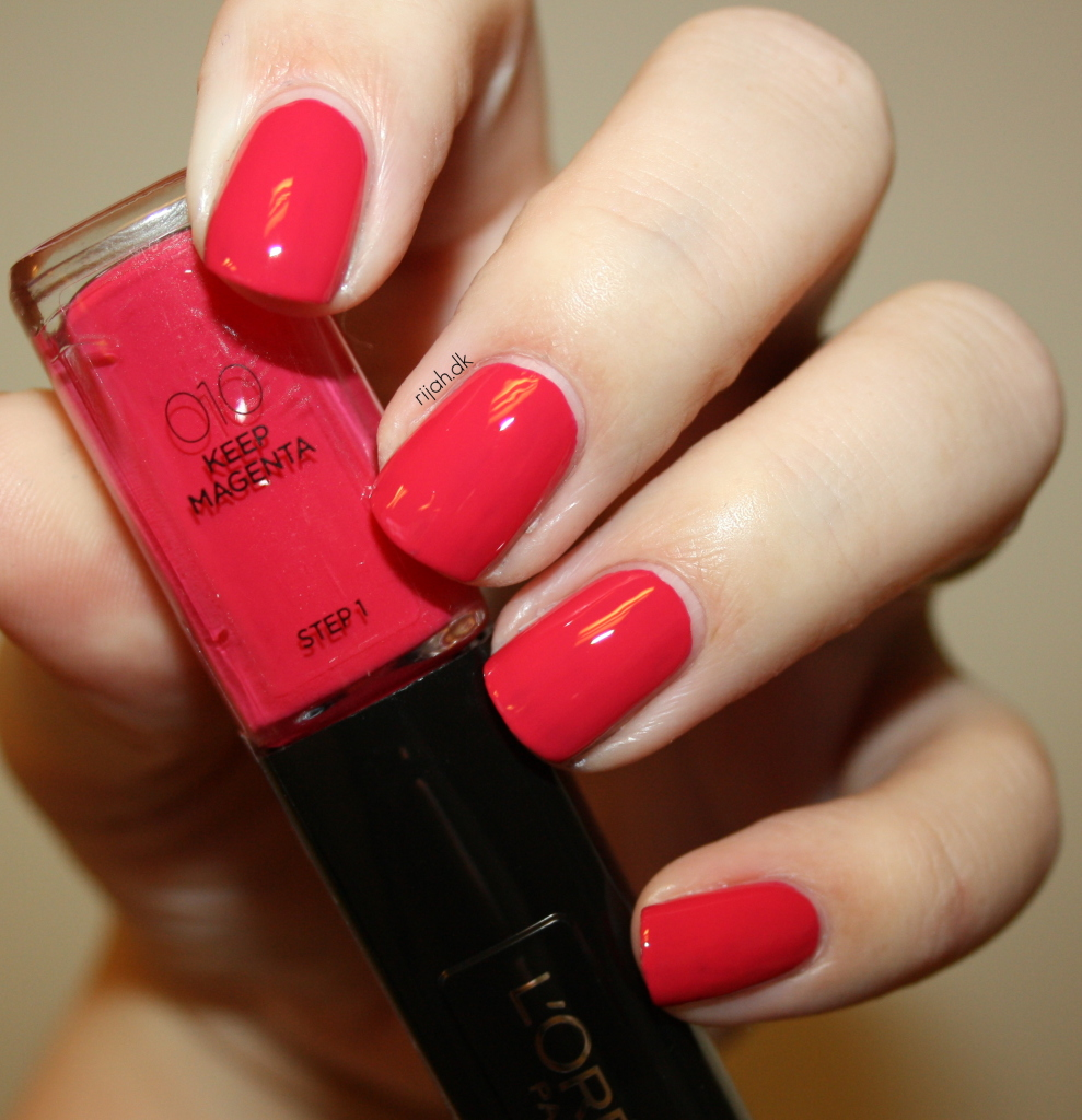 Loreal 010 Keep Magenta Loreal Infallible Nails