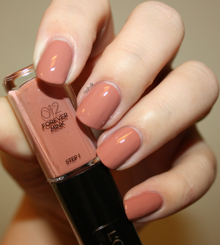 Loreal 012 Forever Mink Loreal Infallible Nails