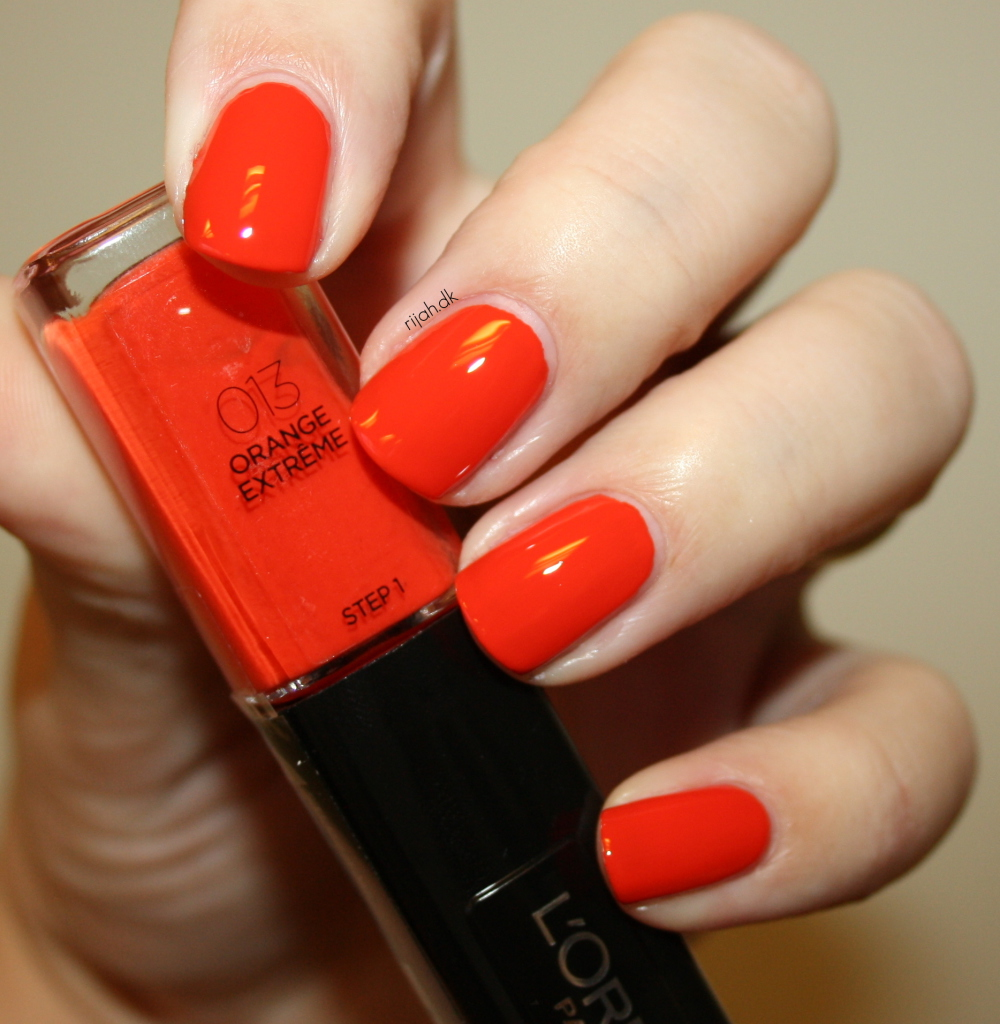 Loreal 013 Orange Extreme Loreal Infallible Nails