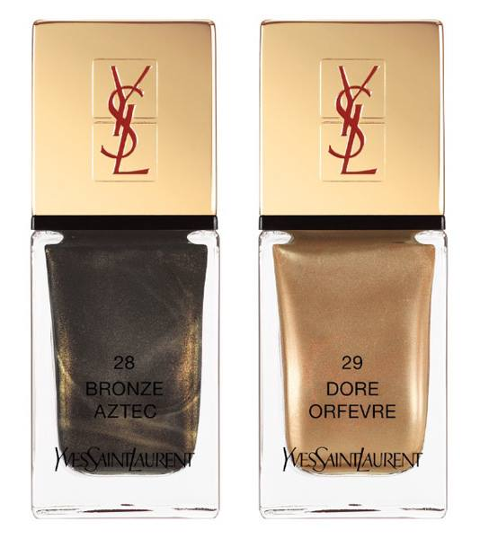 YSL Wildly Gold Holiday 2014 Collection