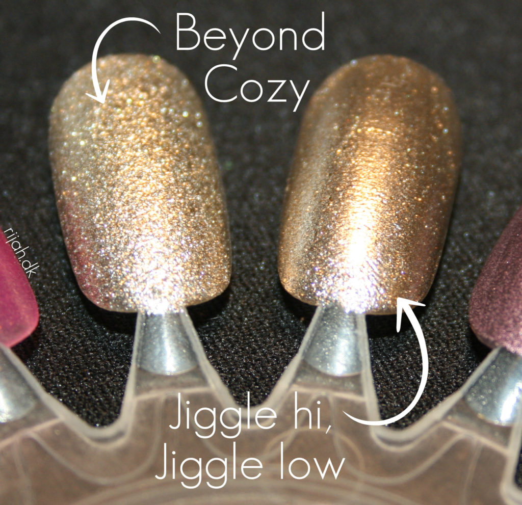Beyond Cozy Jiggle Hi Jiggle Lo Essie Winter Collection 2014
