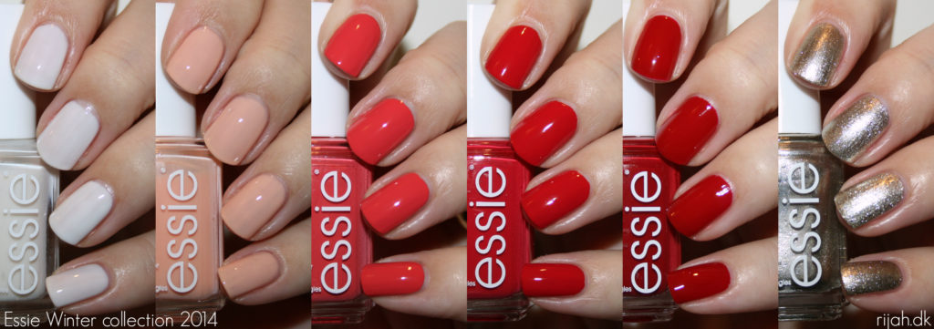 Essie Winter Collection 2014