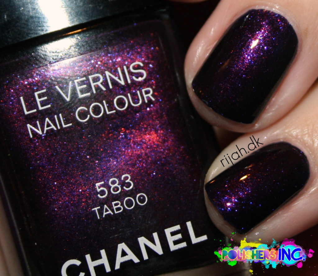 Chanel Taboo Closer look