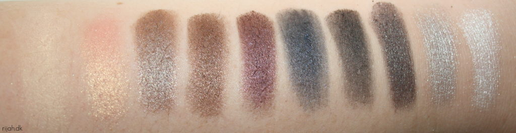 GOSH Smokey Nudes swatches GOSH Smokey Nudes og 9 Shades