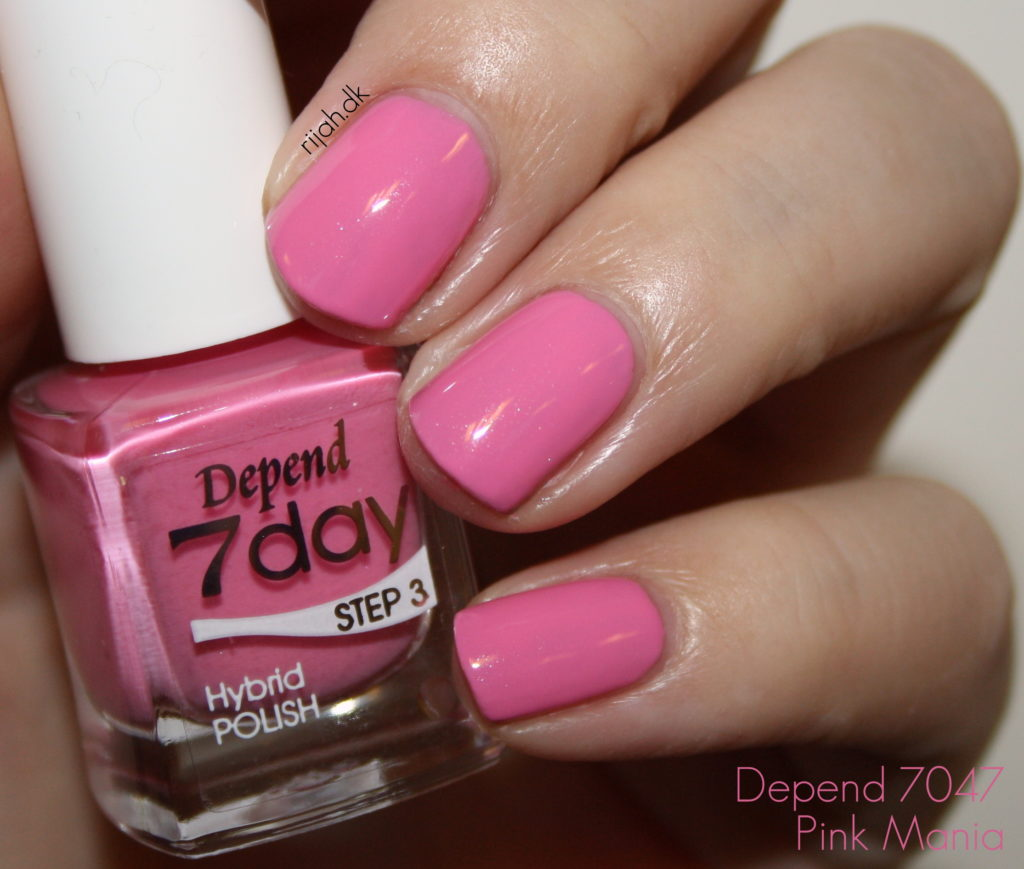Depend 7day Spring 2015 7047 Pink Mania