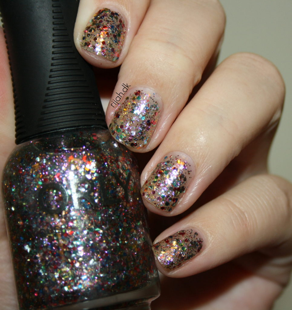 Orly Mirrorball & Orly Glitterbomb