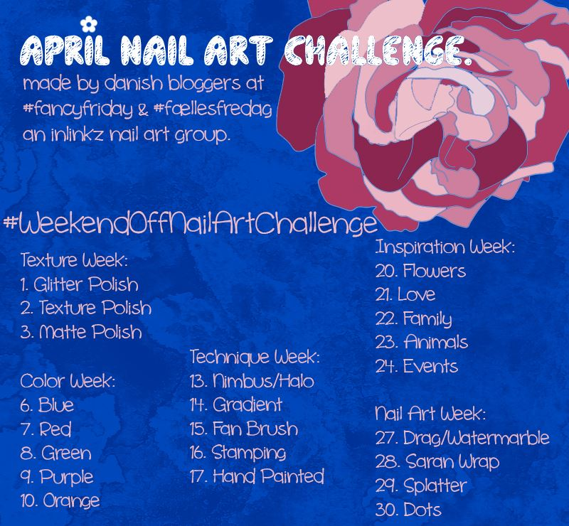 #WeekendOffNailArtChallenge - Round up