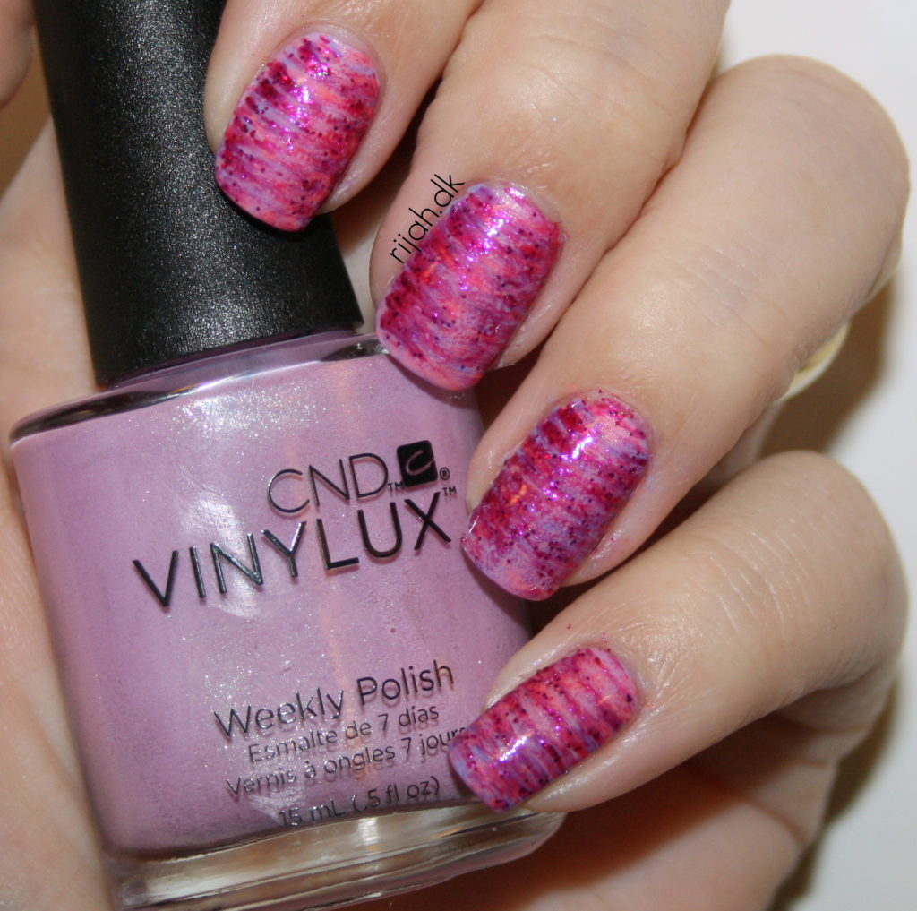 #WeekendOffNailArtChallenge – Fan Brush