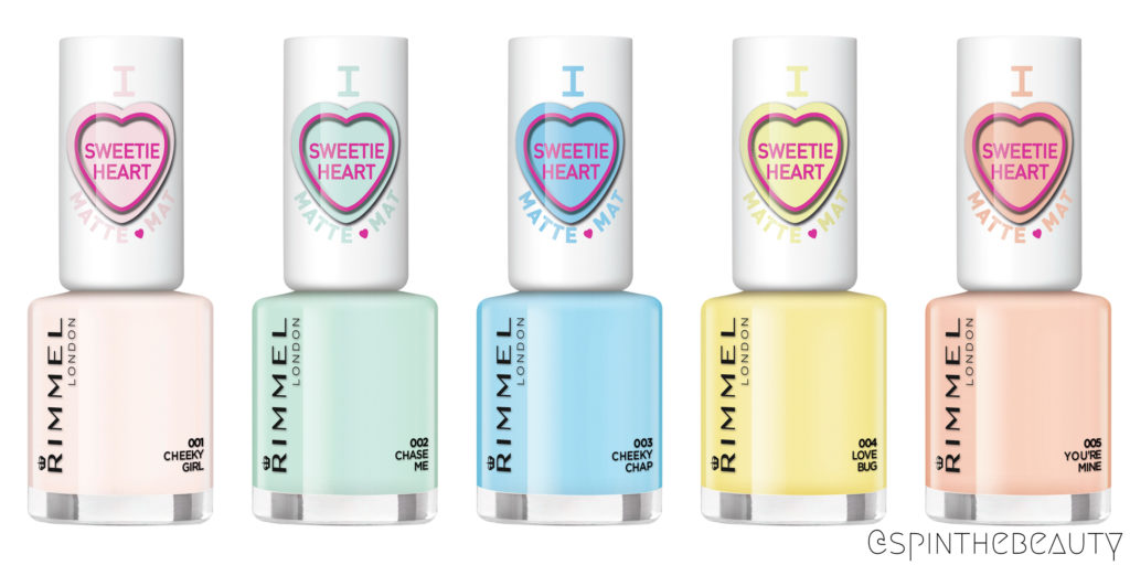 Rimme Sweetie Hearts collection Neglelak nyheder forår 2015