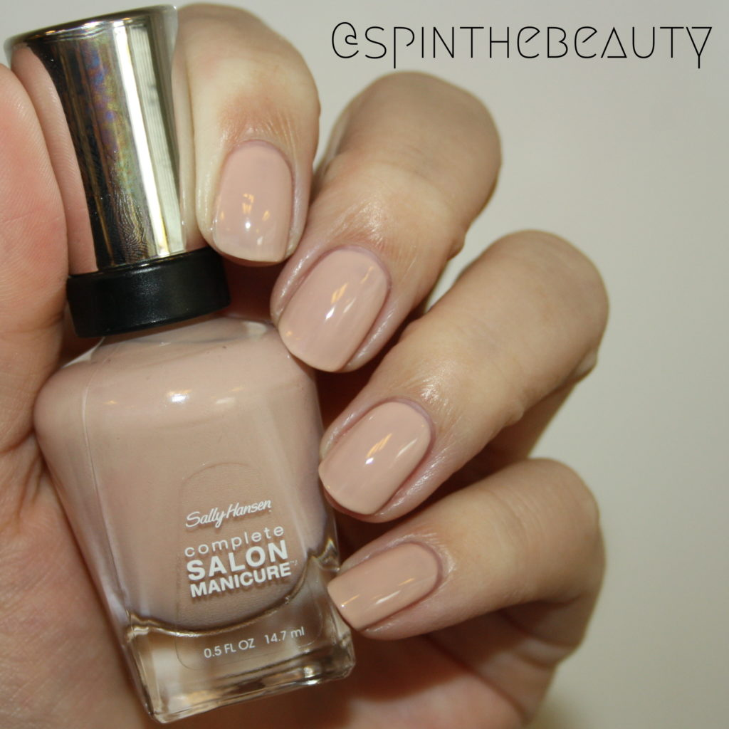 Sally Hansen Blush at dusk