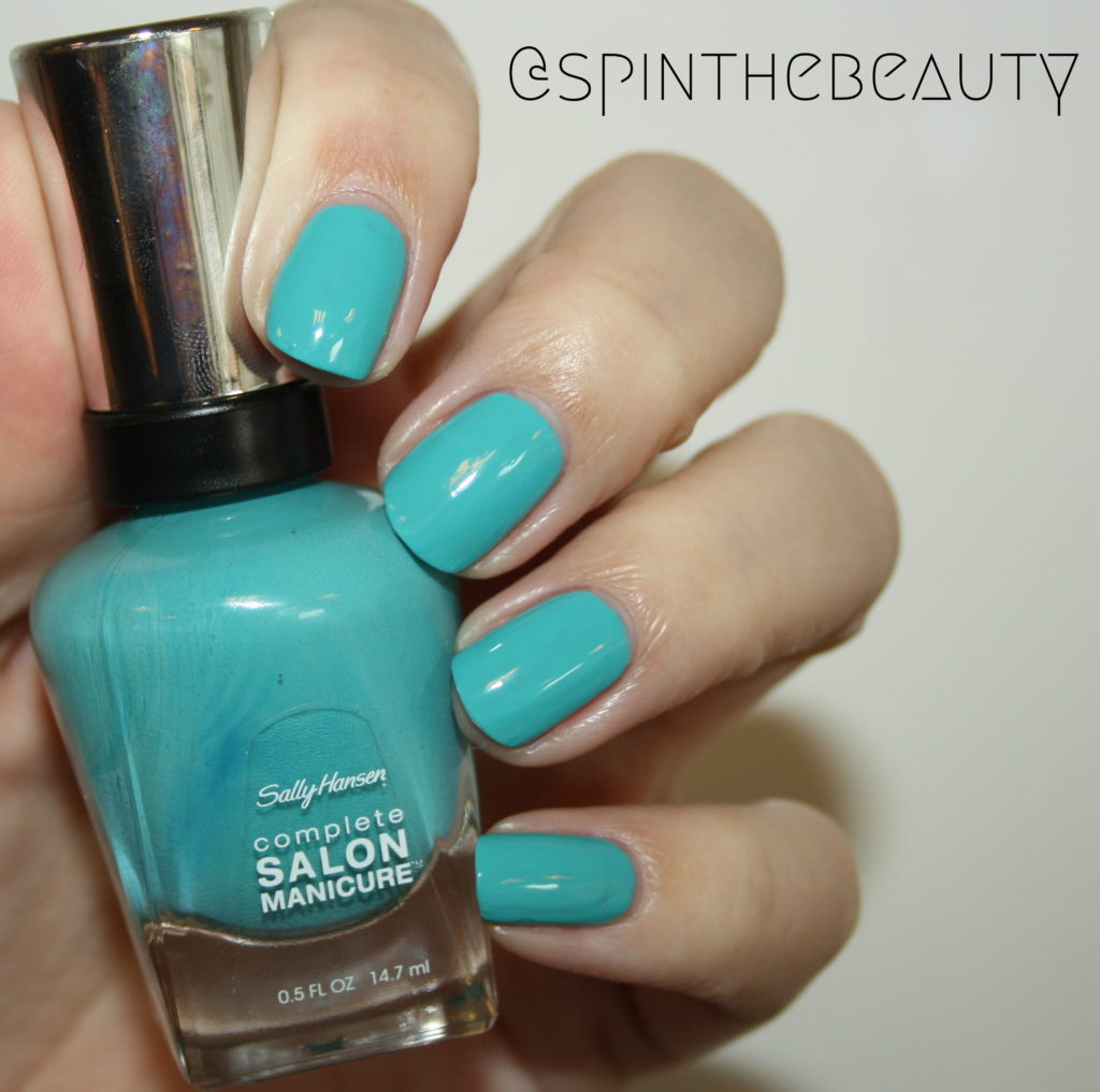 Sally Hansen Teesta Turquoise Sally Hansen Complete Salon Manicure Spring 2015 collection