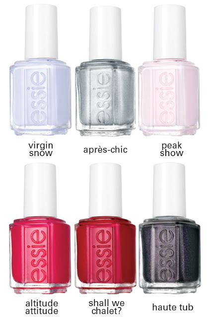 essie winter 2015 collection
