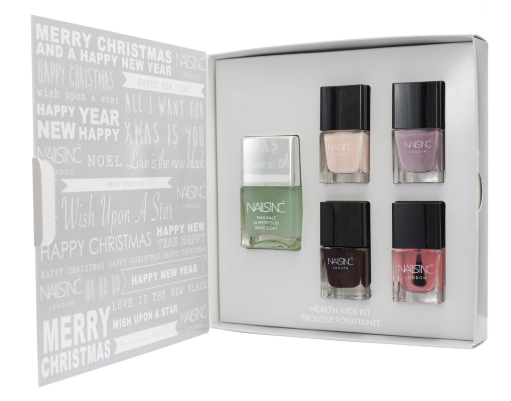 Nails Inc hos Sephora Festive Health Kick Kit DKK 150