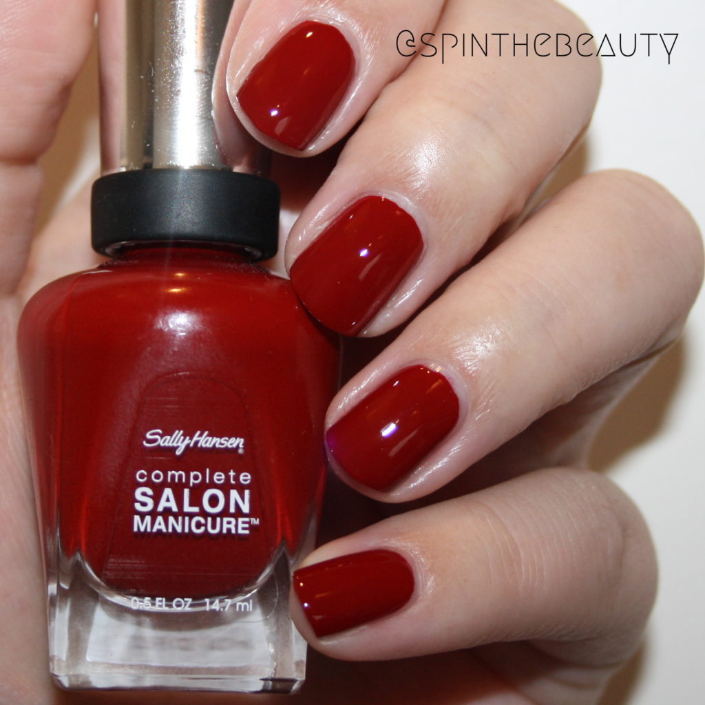 Sally Hansen Maasai Red